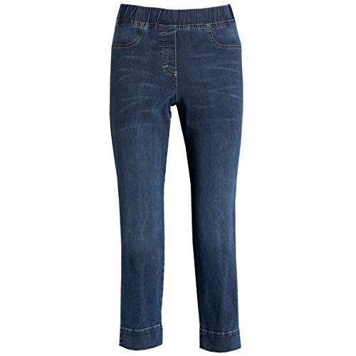 KjBrand Jenny 7/8-Hose, Groesse 50K, blau Denim