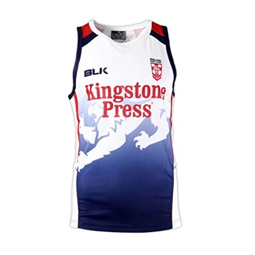 Blk Rugby England Training Singlet [Navy]
