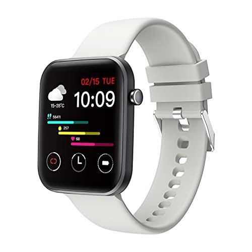 M/S P15 Reloj Inteligente Sueño Prueba de frecuencia cardíaca Recordatorio de monitoreo de Movimiento Calorías Gris 1.69 Pulgadas