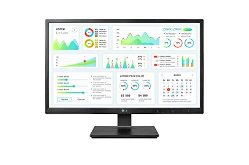 LG 24CK550Z BP Zero Client Monitor 6045 cm 24 Zoll IPS Panel VMware PCoIP Technologie schwarz