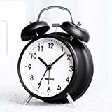 BestCool Twin Bell Alarm Clock, Old Fashioned Bedside Alarm Clock with Backlight Non