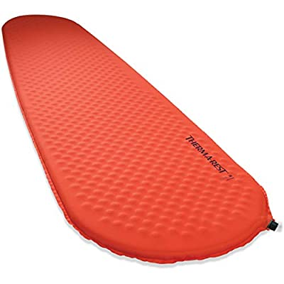 Therm-a-Rest Prolite Ultralight Self-Inflating Backpacking Pad, WingLock Valve, Large - 25 x 77 Inches