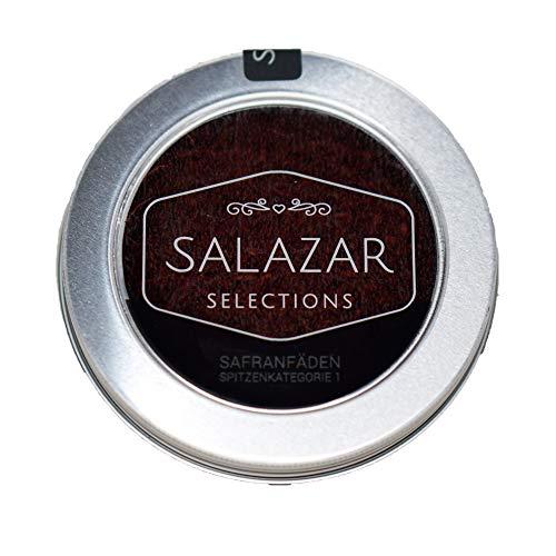 Salazar Safran 10g | 100% reine Safranfäden in Premium-Qualität Super Negin (10 Gramm)