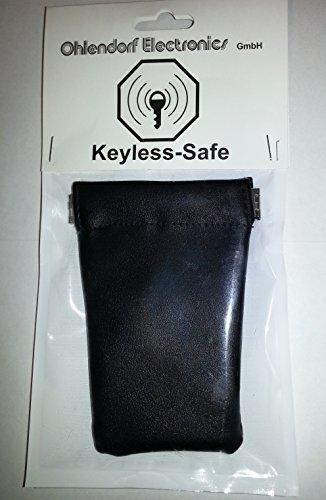 Radio (RFID/NFC)/Keyless auto estuche llavero (Blocking móvil). Keyless–Fuerte para llave de coche con el sistema Keyless–Go Proteger Contra Robo De Auto por radio y los Ataques Hacker.