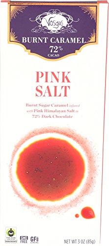 Vosges Haut-Chocolat, Pink Himalayan Salt Caramel Bar, 3 oz