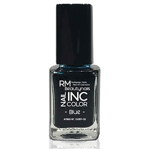12ml Nailart INC Color INK Farbe Blau Nagel Tinte