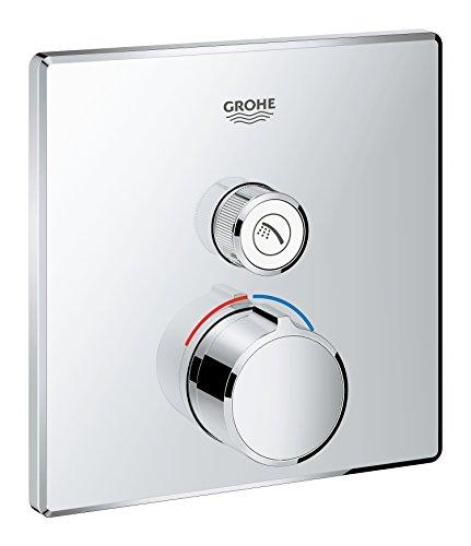 Grohe 29147000 SmartControl empotrado mezclador cuadrado con 1 salida