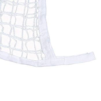 TONGXU Filet à foin blanc pour chevaux. Sac d'herbes pour l'alimentation lente des chevaux., 120x90cm, blanc, 1