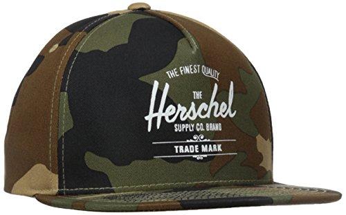 Herschel Supply Co. Woodland Camo Whaler Snapback Cap