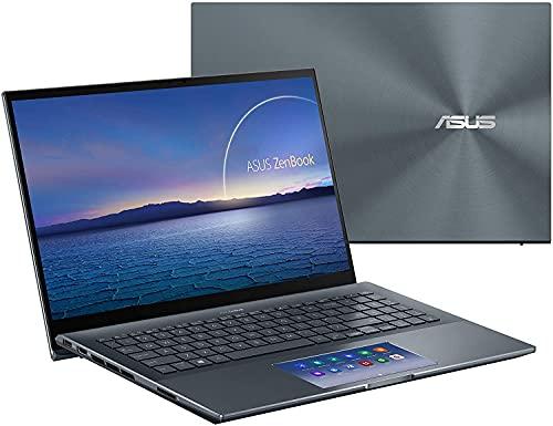 ASUS ZenBook Pro 15 UX580GE Touchscreen Business Ultrabook Laptop with Screenpad (Intel...