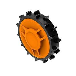 WORX – Roues lestées WA0950 (Pour améliorer l'adhérence de votre tondeuse robot Landroid)