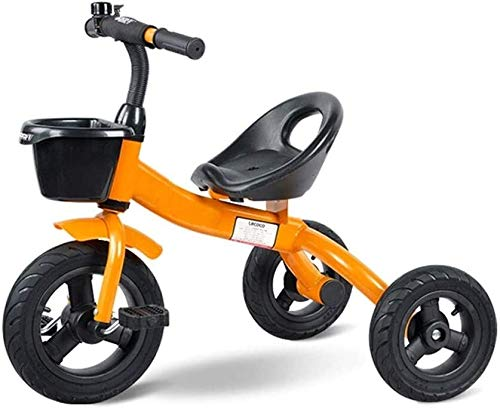 Fahrrad Kinder dreirädrige Fahrräder männliche und weibliche Baby-Kinder-Fahrrad (1-5 Jahre alt) Kinderwagen (Farbe: 3) (Color : 4)