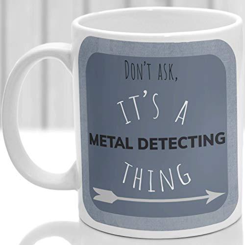 DKISEE Taza de detección de metales, ideal para cualquier detector de metales