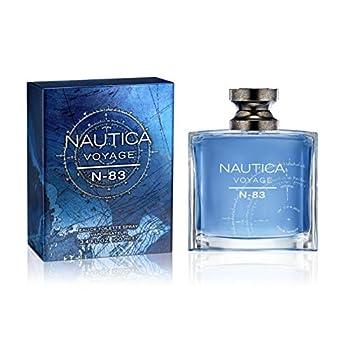 Nautica Voyage N-83 Eau de Toilette Spray 3.4 Fl Oz