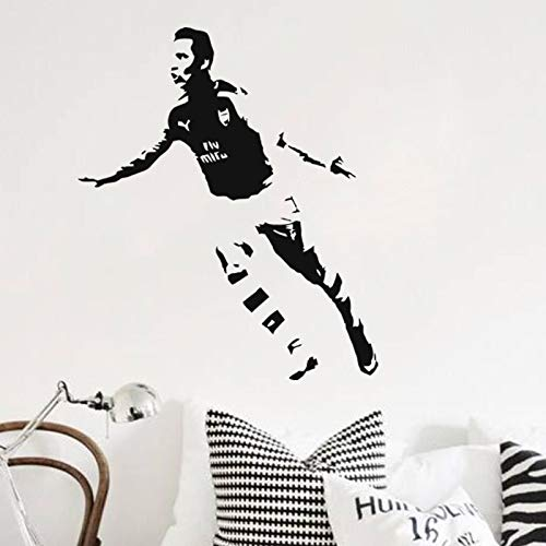 DIY Vinyl Wandaufkleber Home Decoration Fußball Sport Fußballspieler Barcelona FC Super Star Alexis Sanchez Wandtattoos Jungen Schlafzimmer Kinder Poster 84 * 100cm