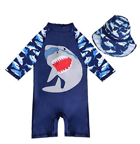 Hurley Baby Infant Boy/'s 6M Blue Shark Sleeveless 1 Pc Romper Outfit Bodysuit