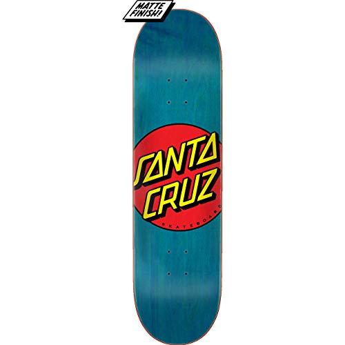 "Santa Cruz Skateboard Deck Classic Dot Blue 8.5"" x 32.2"""