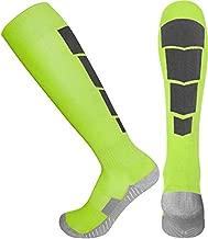Elite Athletic Socks - Over The Calf - Neon (Large, Neon)