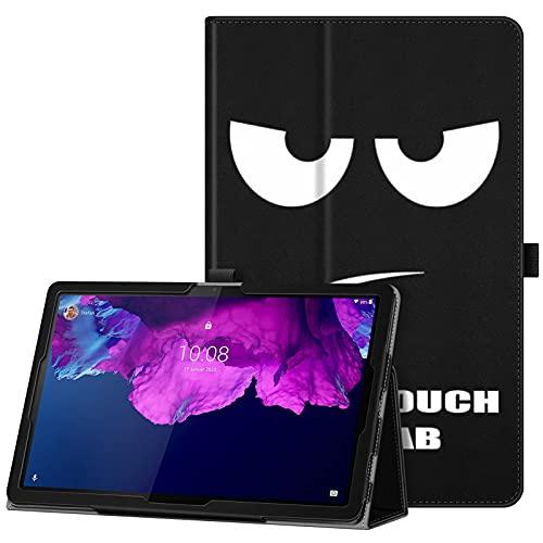 FINTIE Folio Funda Compatible con Lenovo Tab P11 2021 (TB-J606) - Tablet de 11' Carcasa Protectora con Banda Elástica para Stylus Función de Auto-Reposo/Activación, No Tocar