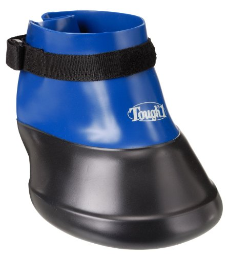 Tough 1 Hoof Saver Boot, Royal Blue, Medium