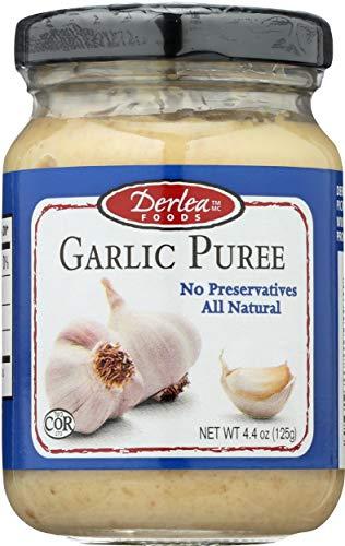 Derlea, Garlic Puree, 4.4 Ounce