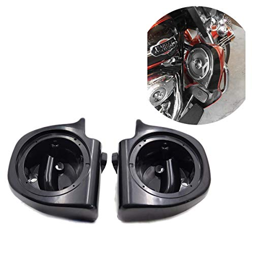 HTTMT HL1584-052F-R/L- Speaker Pod Box 6.5 Inches Compatible with 1993-2013 Harley Touring Lower Vented Fairings
