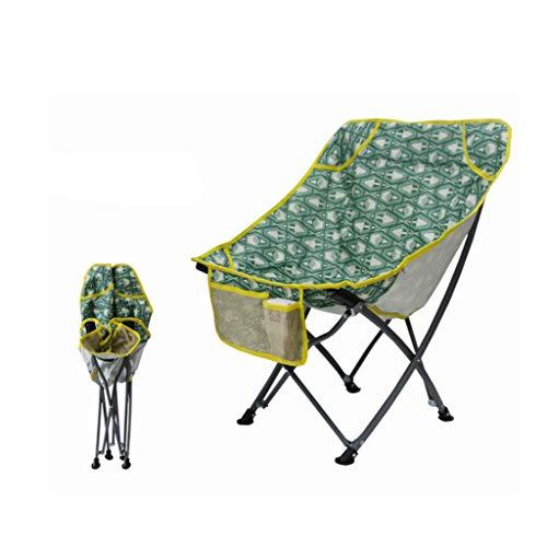 Silla al aire libre que acampa portable, sillas ultraligero Oxford tela plegable con mochilas y los bolsillos, almacenamiento adecuado for actividades al aire libre, camping, picnics, travesías y los