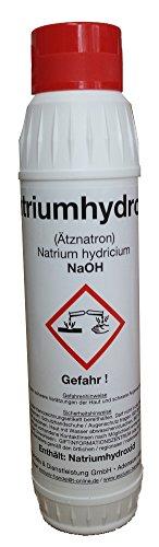 Aetznatron Natriumhydroxid 3 x 1 KG