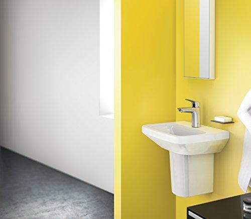 Hansgrohe – Waschtischarmatur, Push-Open Ablaufgarnitur, Chrom, Serie Logis 100 - 4
