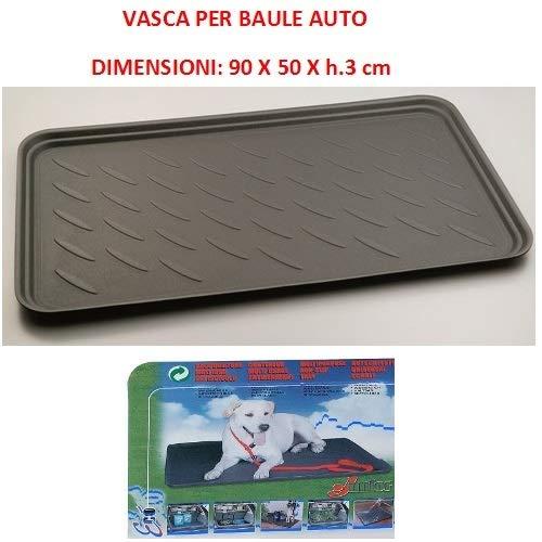 Compatible con Nissan ALMERA 3P Bolsa DE Tronco para Coches Bonnet Trasero Impermeable Adecuado para Transporte DE Perros Animales CONTENEDOR Deslizante Universal 90X50XH.3C