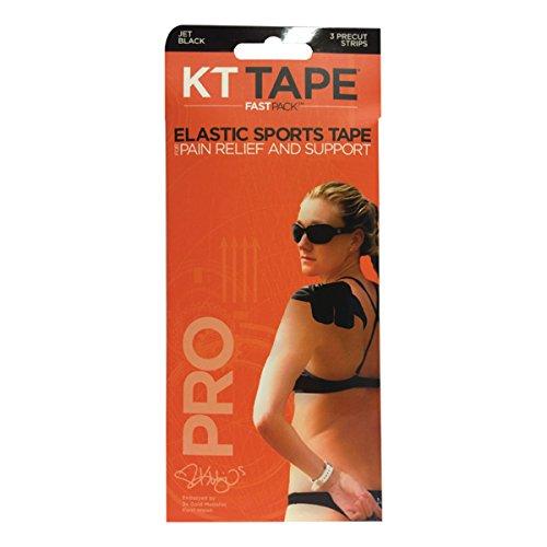 Kt Tape Pro 3 Streifen fast Pack Synthetik vorgeschnitten Kinesio-Tape - Beige, n/a