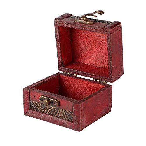 Caja de almacenamiento retro mini, sistema de almacenamiento, tamaño retro, caja de almacenamiento, accesorios de almacenamiento, estilo occidental [03]