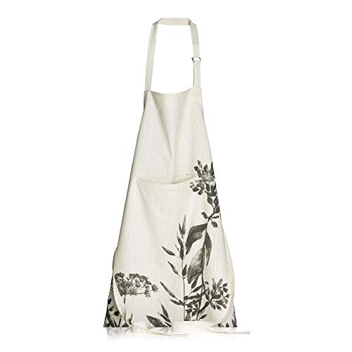 Winkler - Tablier de cuisine Isam – Blouse lavable 100% coton – Poche centrale - Sangle ajustable – Motif imprimé