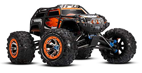 Traxxas Summit: 1/10 Scale 4WD Electric Extreme Terrain Monster Truck with TQi Link Enabled 2.4GHz Radio System