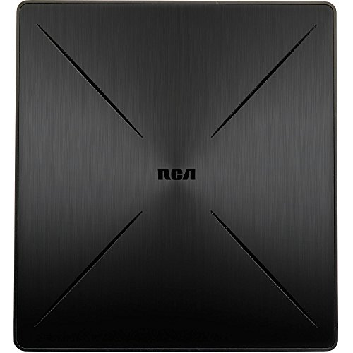 top rated RCA SLIVR home gain HDTV flat antenna, multi-directional 2020