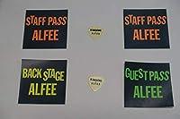 THE ALFEE バックステージパス 3種 4枚 坂崎幸之助さん ピック 2枚 セット