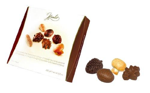 Hamlet Pack de chocolats assortis farcis aux noisettes - 1 x 250 grammes