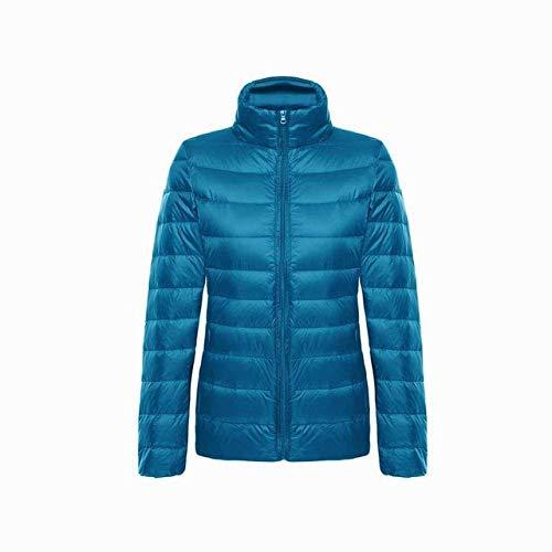 YRFHQB Zimowa damska kurtka płaszcz 90% puchowa parka damska ultralekka kurtka puchowa damska kurtka wiosenna smukła damska podstawowa parka Lake XXL