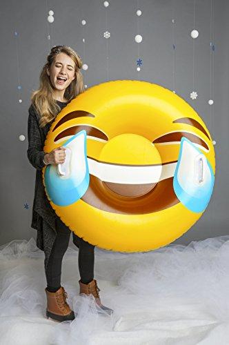 BigMouth BMST-TE Big Mouth Snow Tube Emoji, Mehrfarbig