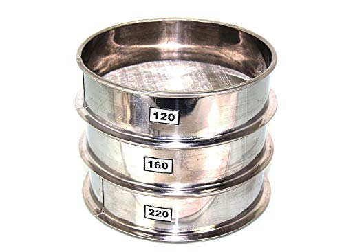 Aluminum Herbal Pollen Hash Extractor stackable sifter 120 160 220 Micron Screen