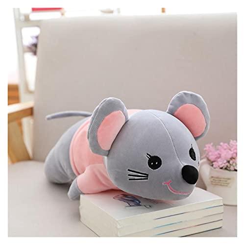 CHENPINBH Plüschtiere Ratten Plüschtiere Super Nette Spielzeug Cartoon Maus Kissen Kissen Paar Gefüllte Puppe Kinder Geburtstag (Color : B, Height : 80CM)