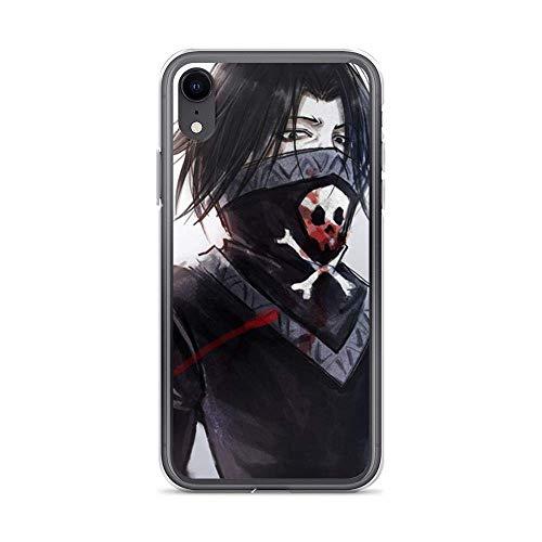 Sexdety Funda Phone Case Compatible con iPhone 12 Mini Case HXH Feitan Angry Face Villians Japanese Hunter Action Anime