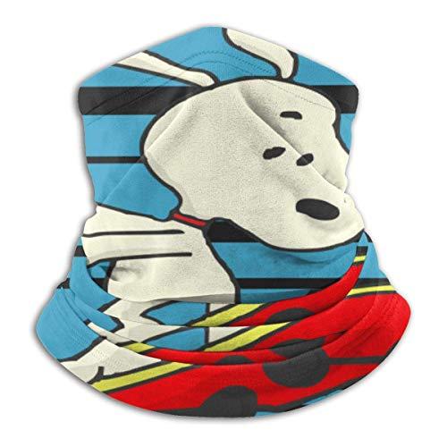 Feeling-Right Snoopy Play Skateboard Unisex Bandanas Halsmanschette Gesichtsschutz Sturmhauben