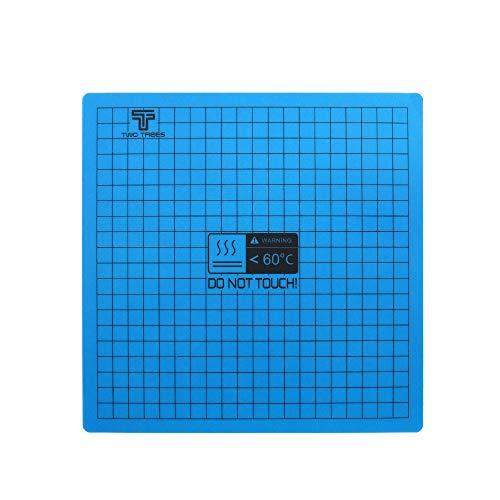 Aibecy Magnetisches Heizbett-Aufdruck, flexibel, Aufkleber mit selbstklebender Rückseite für Creality Ender 3 Ender 5 Anet A8 A6 Tronxy XY-2 3D-Drucker