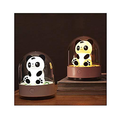 Linarun Nachtlicht Kind Baby Nachtleuchte Panda Led Nachtlampe mit USB Aufladunguns und Farbwechsel für kinderzimmer, Babyzimmer, Schlafzimmer