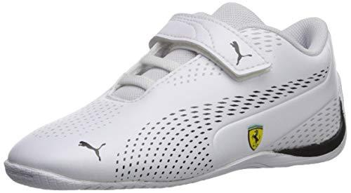 Price comparison product image PUMA Men's SF Drift CAT 5 Ultra II Velcro Sneaker,  White Black,  6 M US Toddler