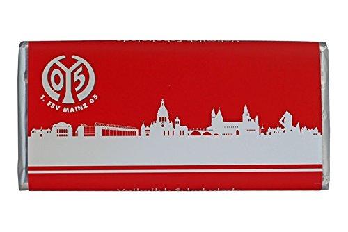 FSV Mainz 05 Schokolade Teamschokolade Vollmilch 100g Tafel, nicht nur für Weihnachten