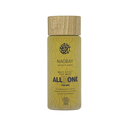 Naobay All In One Gel Limpieza Facial para hombre - 100 ml
