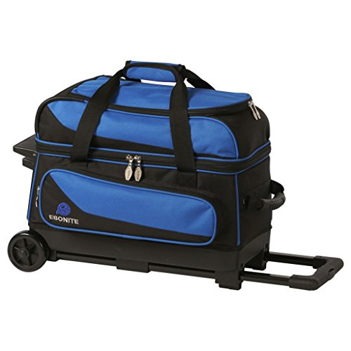 Ebonite Transport 2 Ball Roller Bowling Bag- Many Colors ()