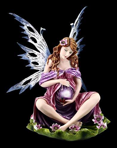 Embarazadas Hadas Fantasía Figura - Magic Mama Grande Hadas, Fairy, Ángel, Figura Decorativa, Artículo Decorativo, Estatua, Escultura, H 35 CM